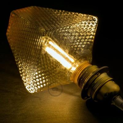 Modulárna LED žiarovka G160 a dymová banka 5W E27 Stmievateľná 2700K