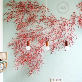 Johanna Neuburger: koralová inštalácia
