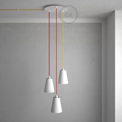 Vytvorte si ešte unikátnejšie lampy s našimi novými  XXL a novými kovovými rozetami!
