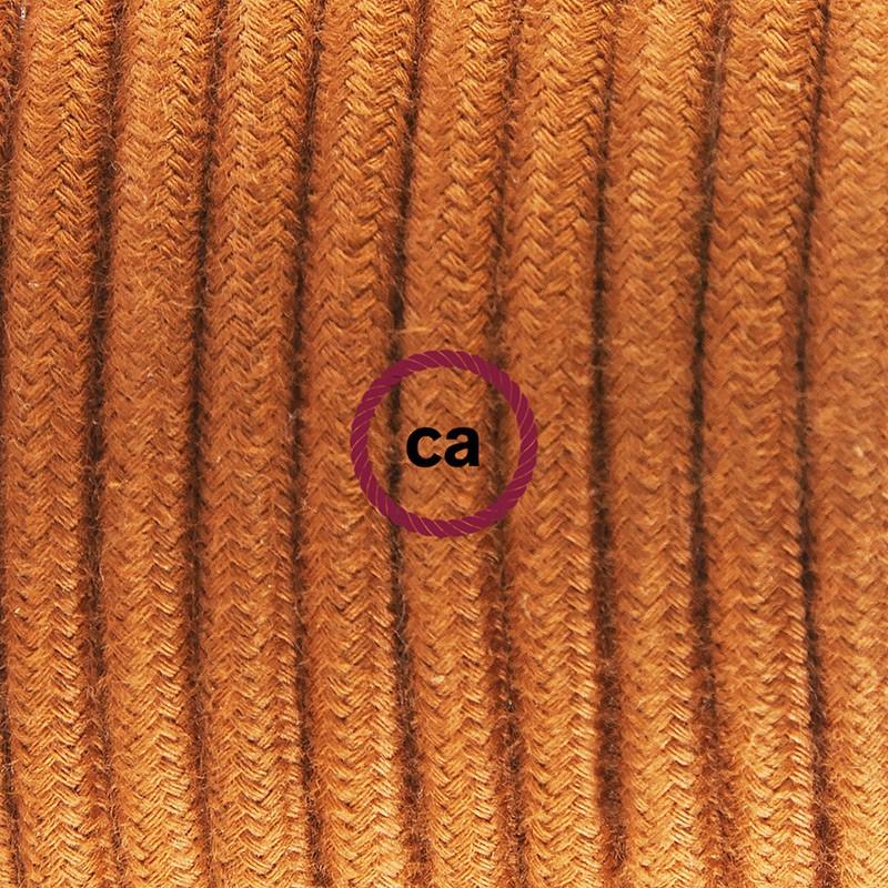 """""""Had"""" závesná lampa s textilným káblom - bavlna - jelenia hnedá RC23"""