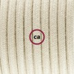 """Had"" závesná lampa s textilným káblom bavlna - holubica RC43"