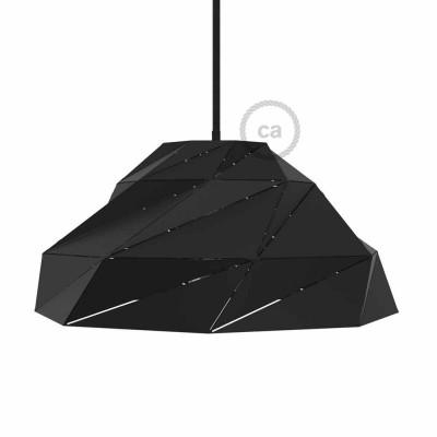 Čierne matné tienidlo Nuvola s E27 objímkou