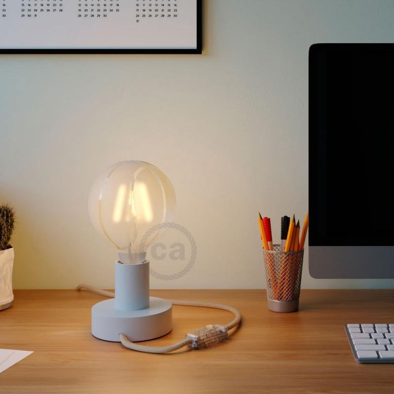 LED žiarovka - Glóbus G125 so špirálovým vláknom - Tattoo Lamp® Basket 4W E27 2700K