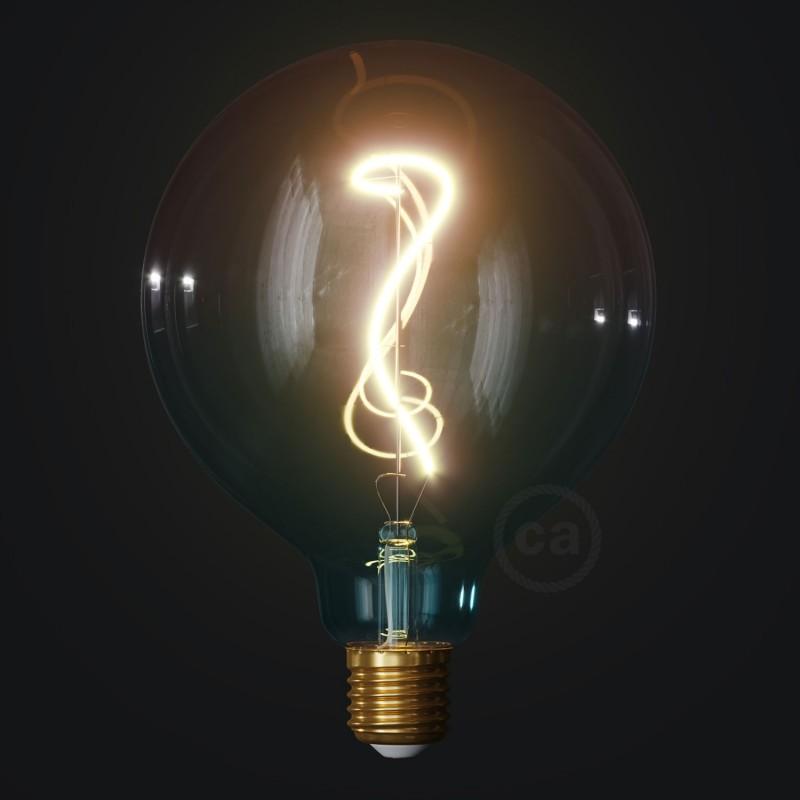 LED žiarovka G125 farebná kombinácia - sen (Dream), kolekcia Pastel, popínavé vlákno 4W E27 Stmievateľná 2200K