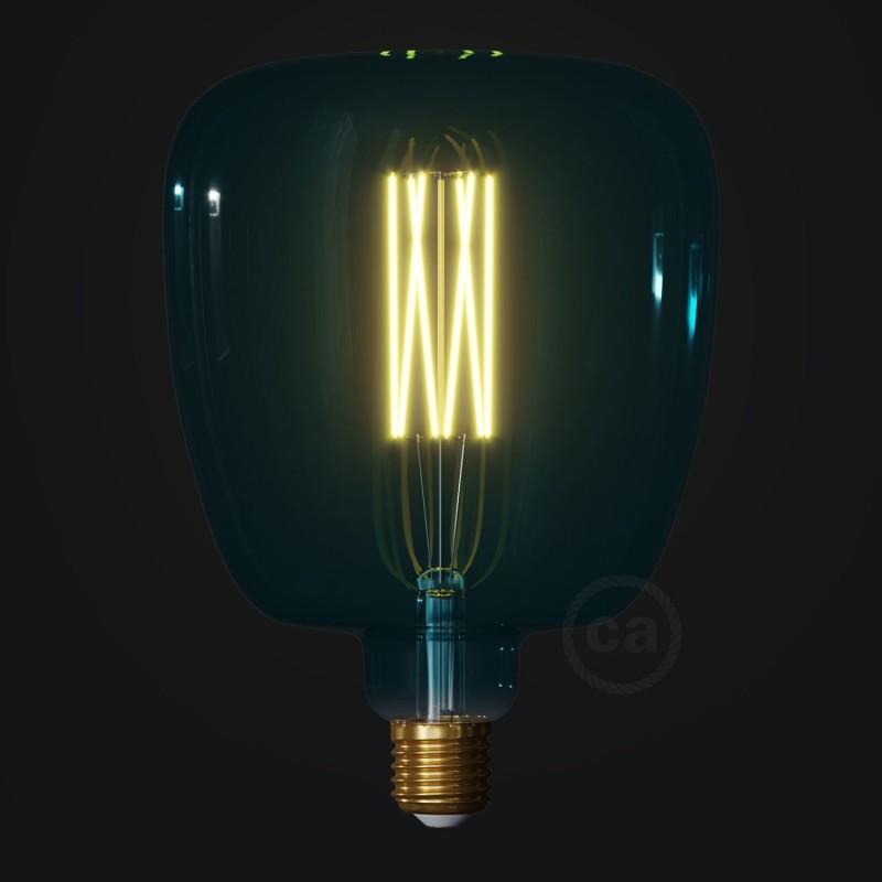 LED žiarovka Bona farby oceánu (Ocean Blue), kolekcia Pastel, rovné vlákno 4W E27 Stmievateľná 2200K