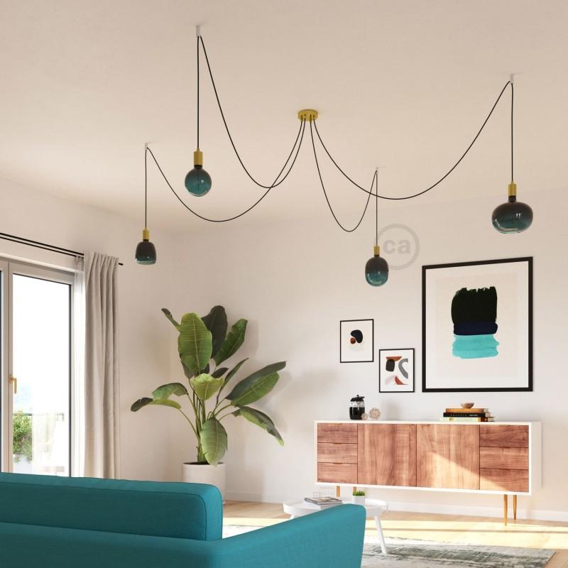 LED žiarovka Bona farebná kombinácia - súmrak (Dusk), kolekcia Pastel, rovné vlákno 4W E27 Stmievateľná 2200K