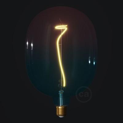 LED žiarovka Egg farebná kombinácia - sen (Dream), kolekcia Pastel, popínavé vlákno 4W E27 Stmievateľná 2200K
