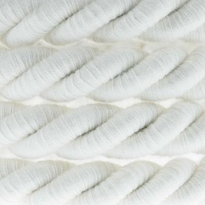 Elektrický kábel XL, kábel 3x0,75 potiahnutý textíliou a bavlnou. Priemer 16 mm.