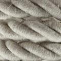 Elektrický kábel 2XL, kábel 3x0,75 potiahnutý textíliou a ľanom. Priemer 24 mm.