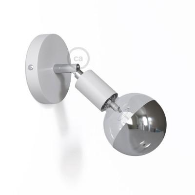 Fermaluce Metallo 90° Monochrome, nastaviteľné kovové nástenné bodové svietidlo