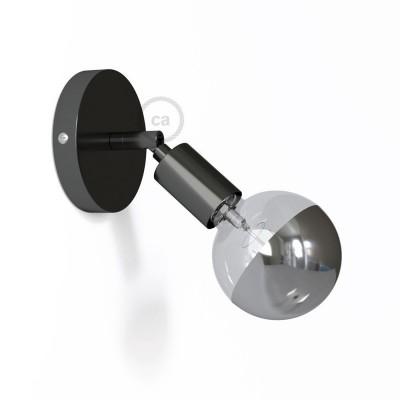 Fermaluce Metallo 90° Urban, nastaviteľné kovové nástenné bodové svietidlo