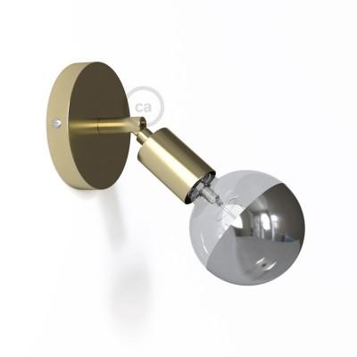 Fermaluce Metallo 90° Glam, nastaviteľné kovové nástenné bodové svietidlo