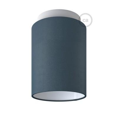 Fermaluce Pastel s valcovým tienidlom, Ø 15cm v18cm, kovové nástenné alebo stropné svietidlo