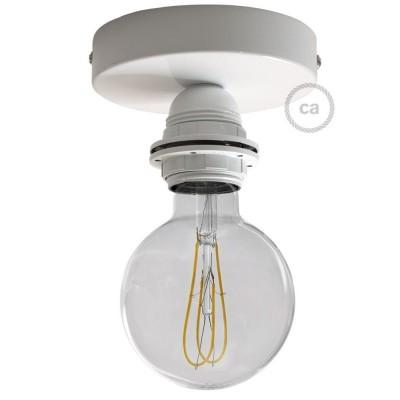 Fermaluce Monochrome s objímkou E27 so závitom, kovové nástenné alebo stropné svietidlo