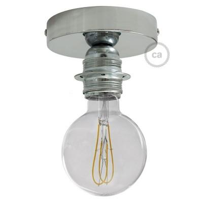 Fermaluce Glam s objímkou E27 so závitom, kovové nástenné alebo stropné svietidlo