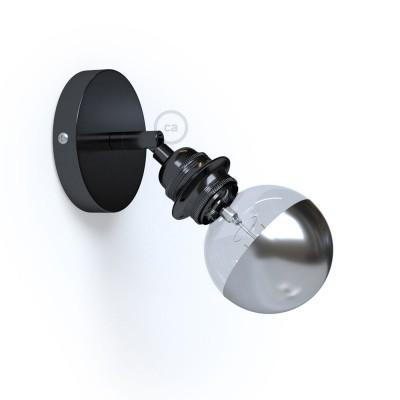 Fermaluce Metallo 90° Urban, nastaviteľné kovové nástenné alebo stropné svietidlo s objímkou E27 so závitom