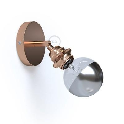 Fermaluce Metallo 90° Glam, nastaviteľné kovové nástenné alebo stropné svietidlo s objímkou E27 so závitom