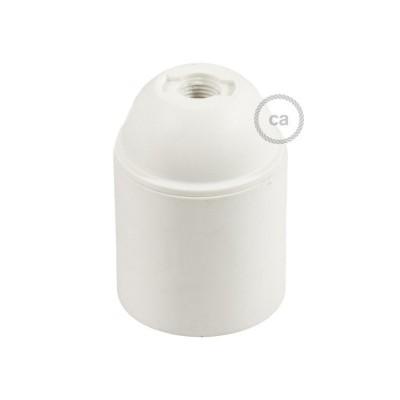 Objímka z termoplastu E27 hladká