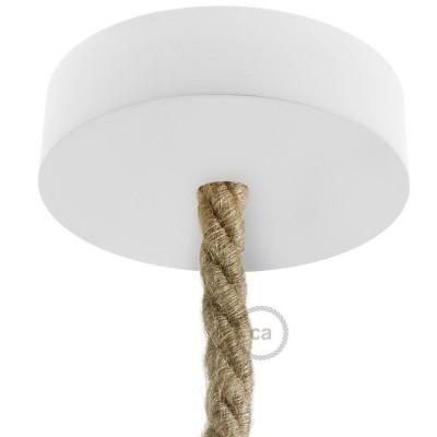 Drevená stropná rozeta pre XL lanový kábel