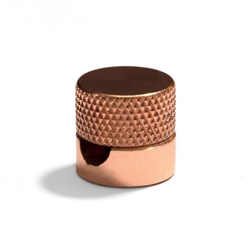 Sarè - Kovová nástenná káblová svorka pre textilné elektrické káble - meď