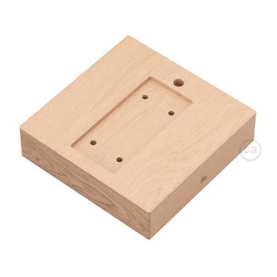 Štvorcový drevený podstavec pre závesný systém Archet(To)