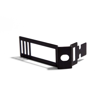 Čierna nastaviteľná kovová svorka pre Creative-Tube