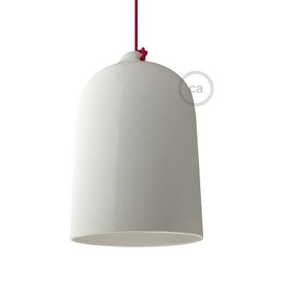 Keramické tienidlo Zvon XL pre závesné lampy - Vyrobené v Taliansku