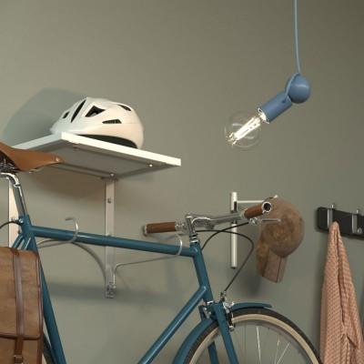 Závesná lampa Magnetico®-Pendel s textilným káblom a nastaviteľnou magnetickou objímkou - Vyrobená v Taliansku