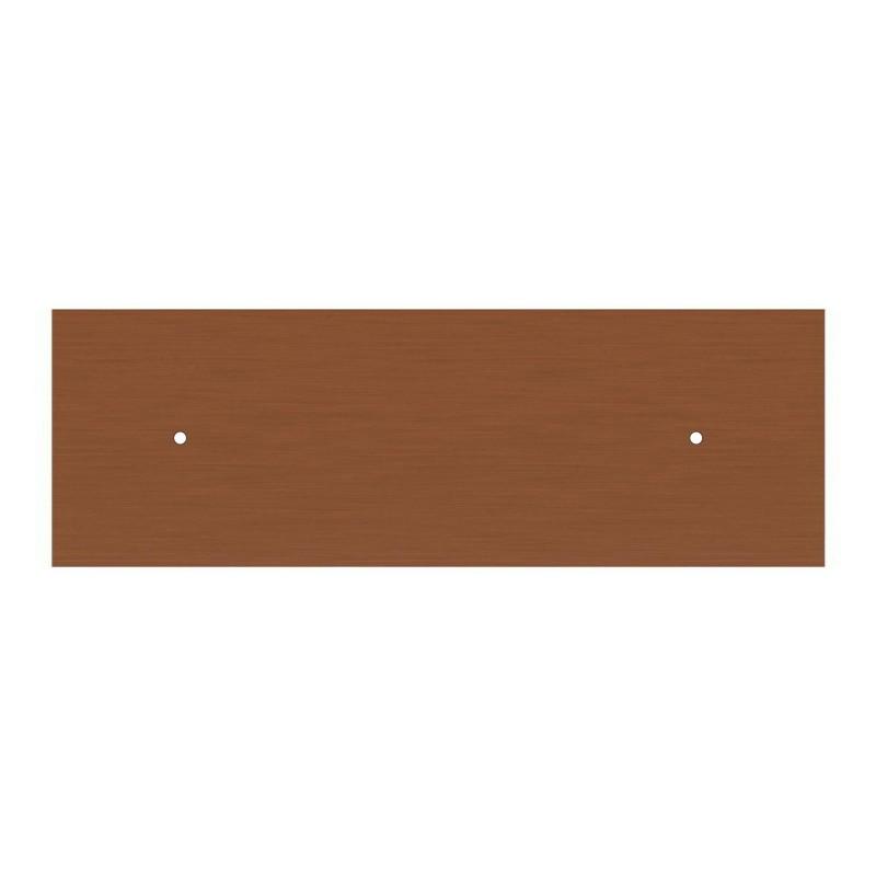 Obdĺžniková XXL stropná rozeta s dvomi otvormi Rose-One s rozmermi 675 x 225 mm