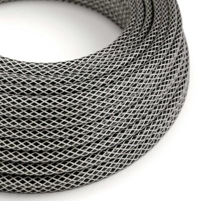Okrúhly elektrický kábel potiahnutý pocínovaným medeným vláknom