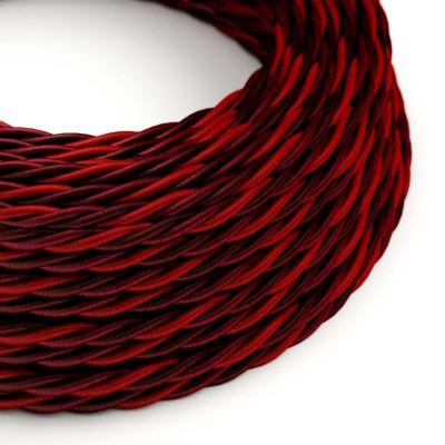 Stočený textilný elektrický kábel, umelý hodváb, Asburgo TG05