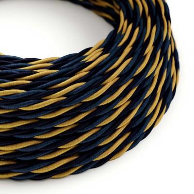 Stočený textilný elektrický kábel, umelý hodváb, Savoia TG09