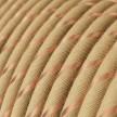 Textilný elektrický kábel pokrytý jutou a medeným vláknom Vertigo ERR04