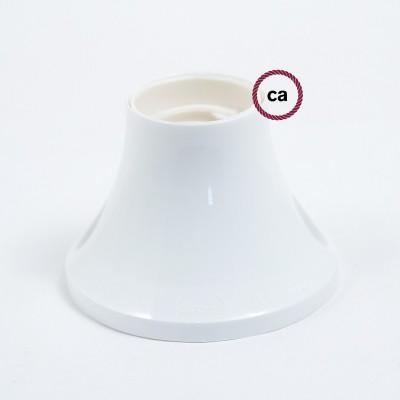 Objímka z termoplastu na stenu alebo na strop so sklonom 90°