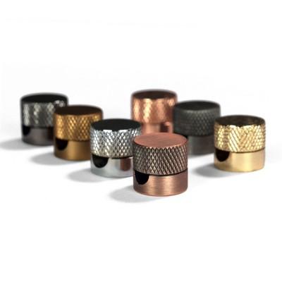 Sarè - Kovová nástenná káblová svorka pre textilné elektrické káble - matná mosadzná (bronzová)