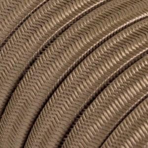 Textilný elektrický kábel pre Svetelné šnúry, potiahnutý hodvábnou textíliou CM27 Cipria