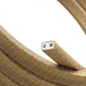 Textilný elektrický kábel pre Svetelné šnúry, potiahnutý jutou CN06