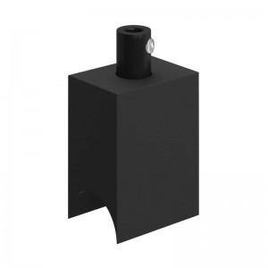 Syntax - Minimalistická čierna objímka z termoplastu pre valcové žiarovky S14d