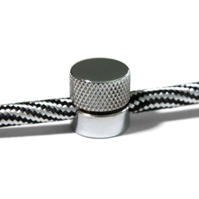 Sarè - upevnenie na stenu, kovová káblová svorka pre textilné káble