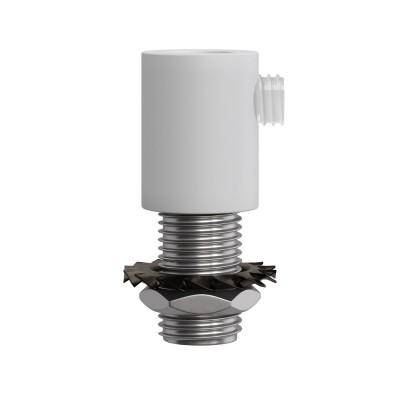 Valcová kovová káblová svorka so závitovou tyčkou, maticou a podložkou