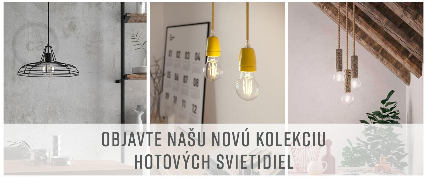 Nová kolekcia hotových svietidiel