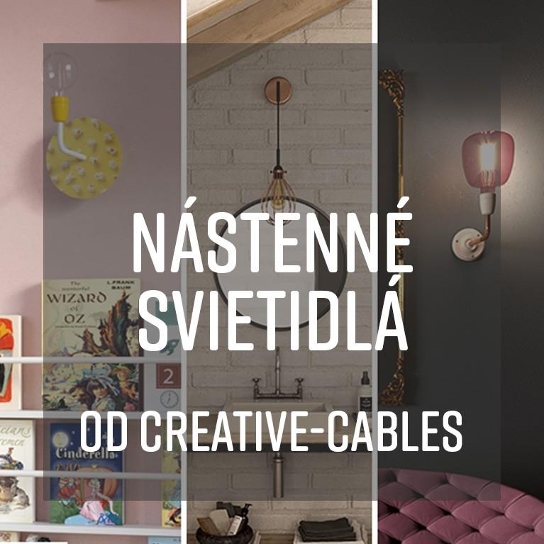 Nástenné svietidlá od Creative-Cables